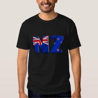 NZ logo flag of New Zealand T-shirts