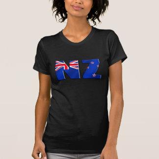NZ logo flag of New Zealand Tshirts