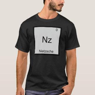 Nz - Nietzsche Funny Element Chemistry Symbol Tee