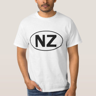 NZ Oval Identity Sign Tee Shirt