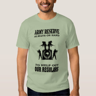 NZ PART TIME SOLDIERS TSHIRTS