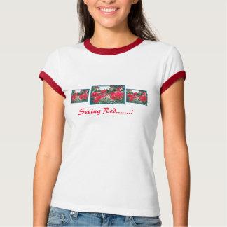 NZ Pohutakawa Ladies T-Shirt  Seeing Red.......!