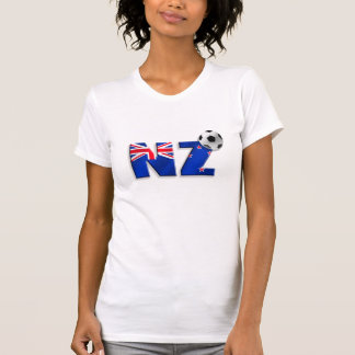 NZ soccer ball gifts flag of New Zealand style Shirt