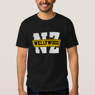 NZ'S WELLYWOOD T SHIRTS