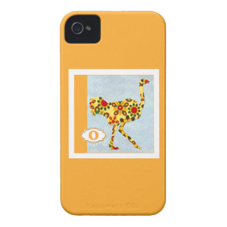 O is for Ostrich Case-Mate iPhone 4 Case