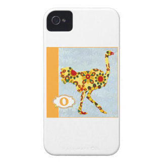 O is for Ostrich iPhone 4 Cover