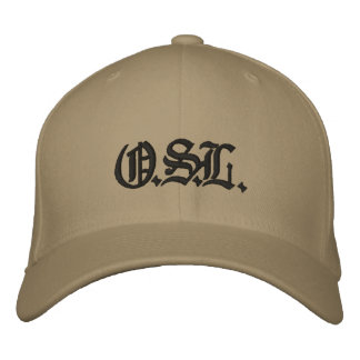 O.S.L. EMBROIDERED BASEBALL CAPS