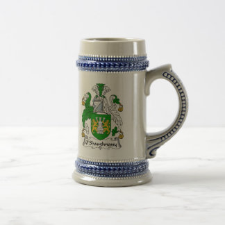 O Shaughnessy Coat of Arms Stein - Family Crest