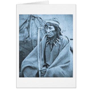 O-Ta-Dan Sioux Indian Card
