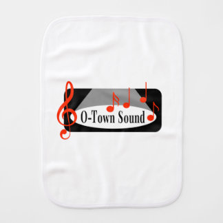 O-Town Sound Baby Items Burp Cloths
