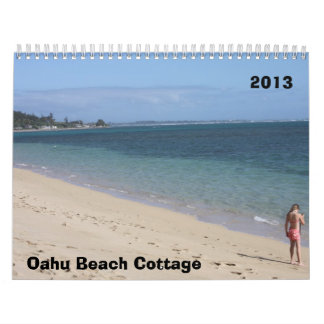 Oahu Beach Cottage 2013 Calendars