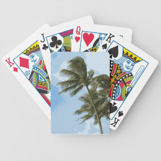 Oahu Palms Bicycle Playing Cards