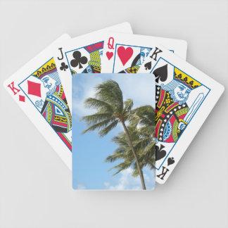 Oahu Palms Poker Deck