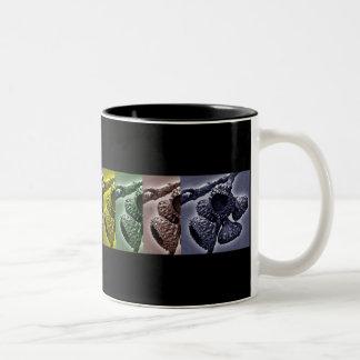 Oak Acorn Caps Two-Tone Coffee Mug