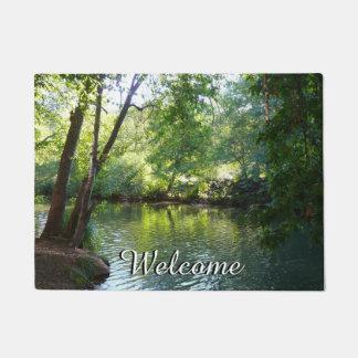Oak Creek I in Sedona Arizona Nature Photography Doormat