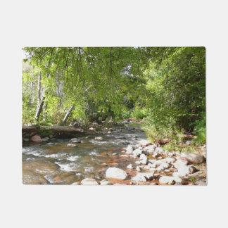 Oak Creek II in Sedona Arizona Nature Photography Doormat
