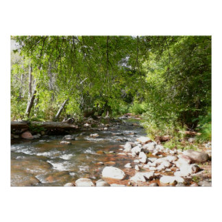 Oak Creek II in Sedona Arizona Nature Photography Poster