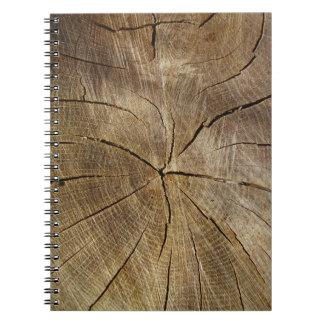 Oak Tree Cross Section Photo Notebook