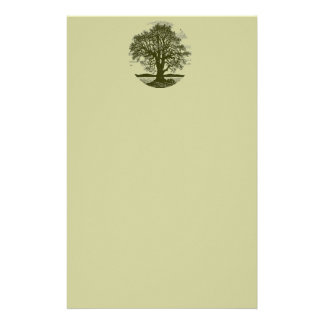 Oak Tree Stationary Stationery