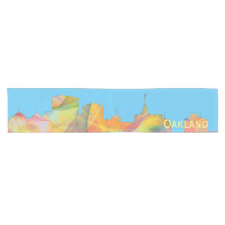 OAKLAND, CALIFORNIA SKYLINE WB1 - SHORT TABLE RUNNER