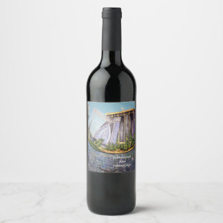 Oakland Jewel from Oakland.Style Wine Label