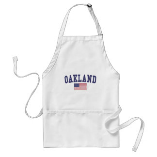 Oakland US Flag Standard Apron