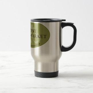 Oakmont Farmers Market Logo Stainless Steel Travel Mug