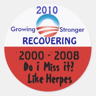 Obama, 2000 sticker