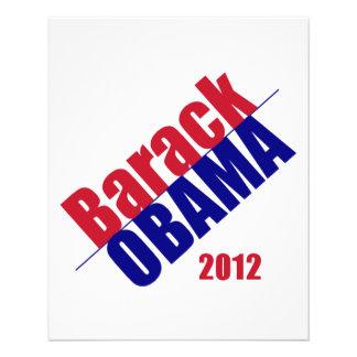 Obama 2012 Flyer