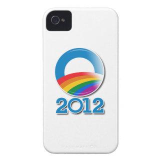 Obama 2012 Pride Button iPhone 4 Case-Mate Cases