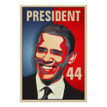 Obama - 44th President inauguration Poster