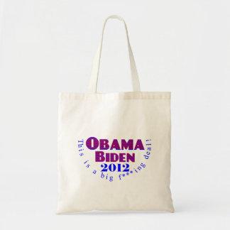 Obama Biden 2012 BFD Bag