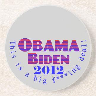 Obama Biden 2012 BFD Coaster