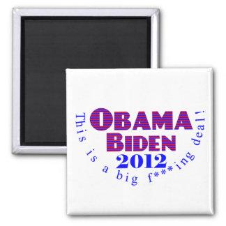 Obama Biden 2012 BFD Magnet