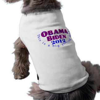 Obama Biden 2012 BFD  Pet Clothing