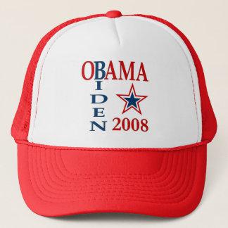 Obama Biden Cross 2008 Trucker Hat