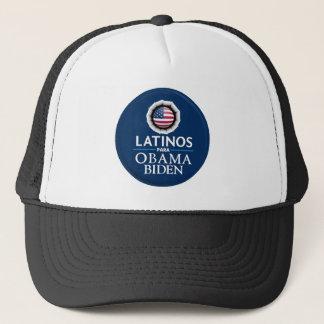 Obama Biden LATINOS Hat