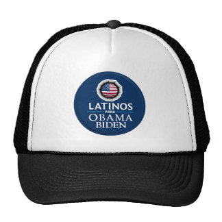 Obama Biden LATINOS Hat