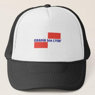 OBAMA-BIN-LYIN TRUCKER HAT