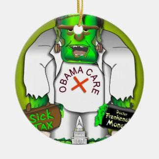 Obama Care Monster Christmas Ornament