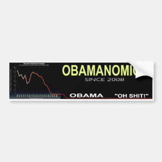 Obama Economy Bumper Sticker