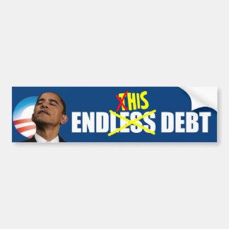 Obama Endless Debt Bumper Sticker