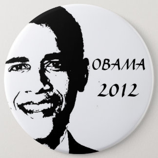 Obama for 2012 6 cm round badge