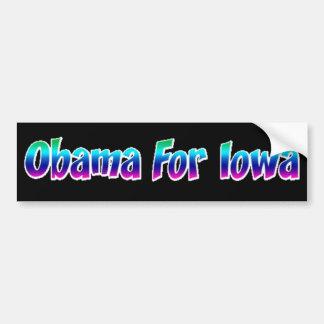 Obama For Iowa Bumper Sticker