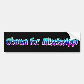 Obama For Mississippi Bumper Sticker