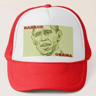 Obama Green Sketch Hat