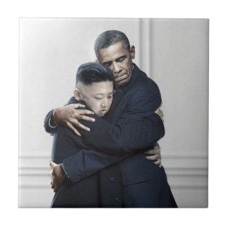 Obama Kim Jong Un North Korea Love Tiles