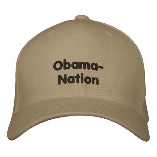 Obama-Nation Embroidered Baseball Cap
