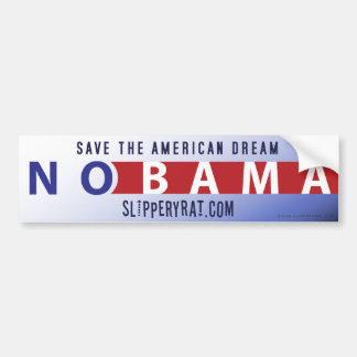 "Obama ""Nobama"" Bumper Sticker"