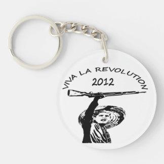 Obama revolt keychain